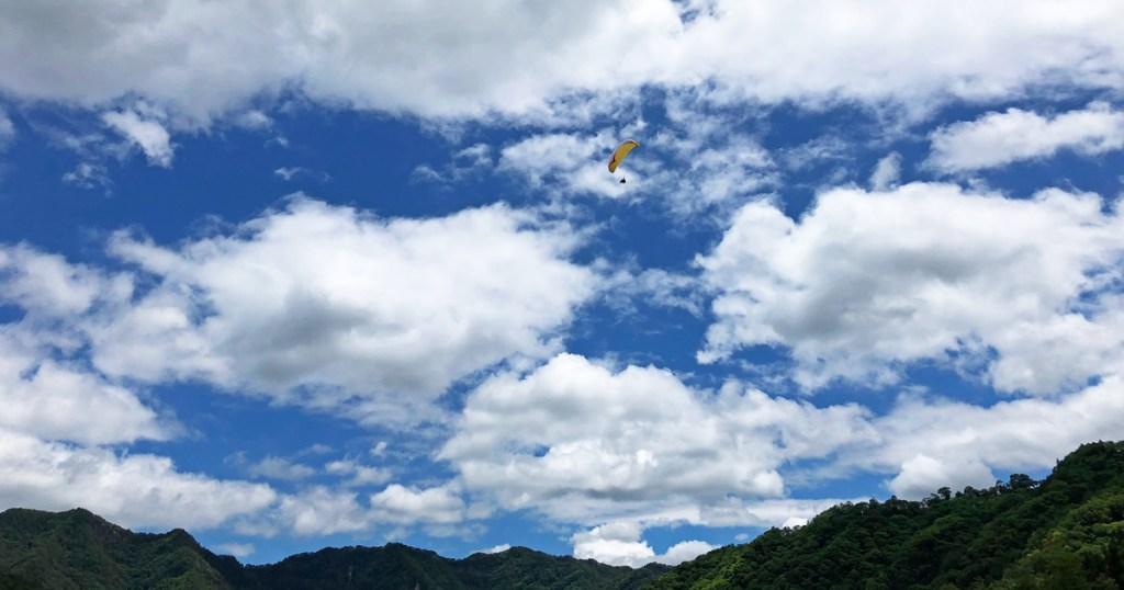 生坂スカイスポーツ公園でフライト