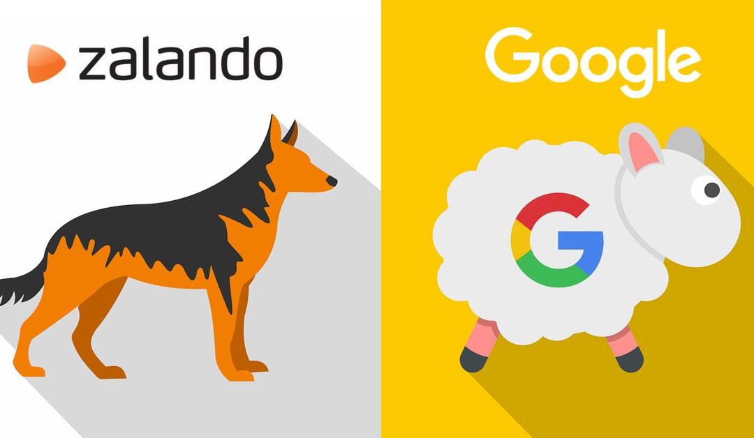 Näin Zalando vie Googlea kuin pässiä narussa
