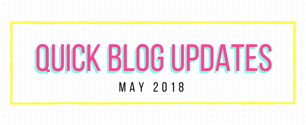 Blog Updates May 2018