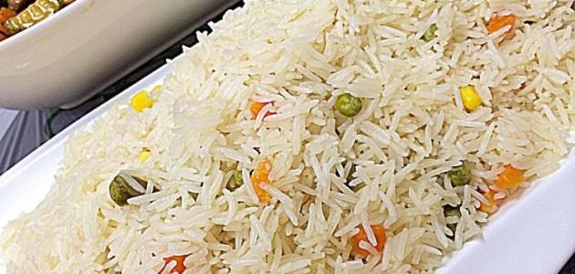 طريقة عمل جميع أنواع الأرز