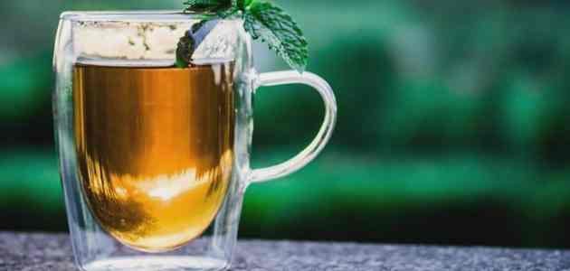 متى يشرب الشاي الاخضر