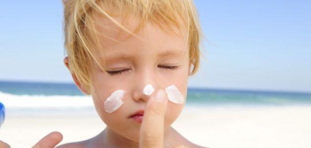 أقوى مرهم لعلاج حروق الشمس من البحر