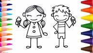 أهم الأفكار لتعليم الرسم للأطفال خطوة بخطوة