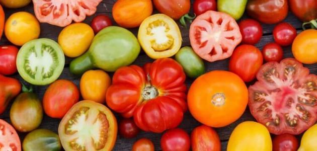 فوائد الطماطم لفقر الدم وكيفية تحضير عصير الطماطم الطازج