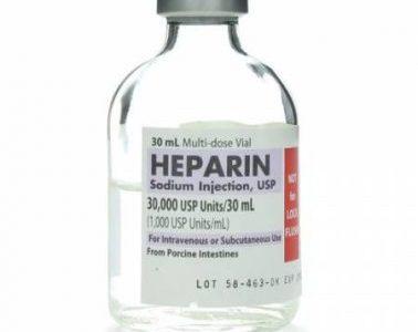 دواء الهيبارين Heparin استخداماته وتأثيراته الجانبية