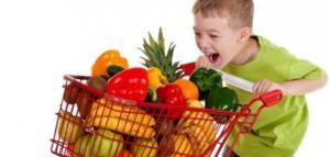 الفاكهة والخضروات للأطفال