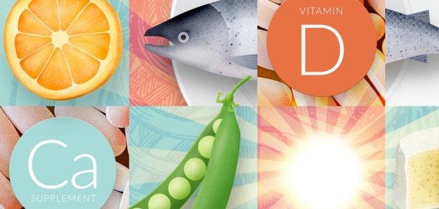 الكالسيوم وفيتامين د كيف يتآزر عملهما بين الارتفاع والانخفاض