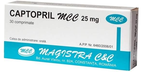 خافض ضغط الدم كابتوبريل Captopril 25/50 mg