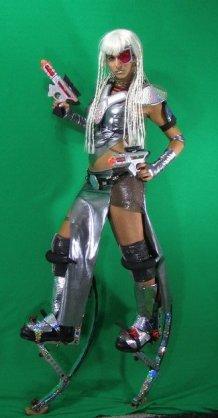 Hala on Stilts - Cyborg