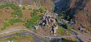 مجمع حصون قرية موتسو باقليم متسخيتا أعلى نهر أنداكستسكالي Andakistskali