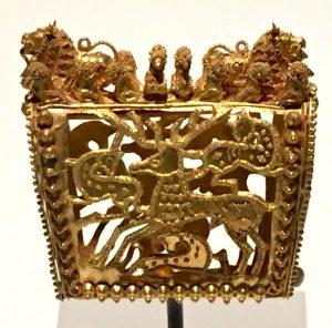 عصور ما قبل الميلاد - ذهب الكوليش الجورجي
