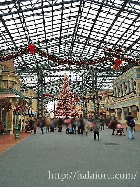 ディズニークリスマス2015混雑状況
