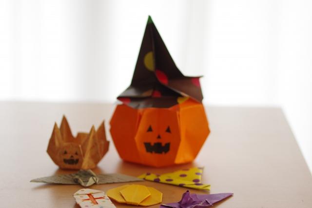 かぼちゃ 折り紙
