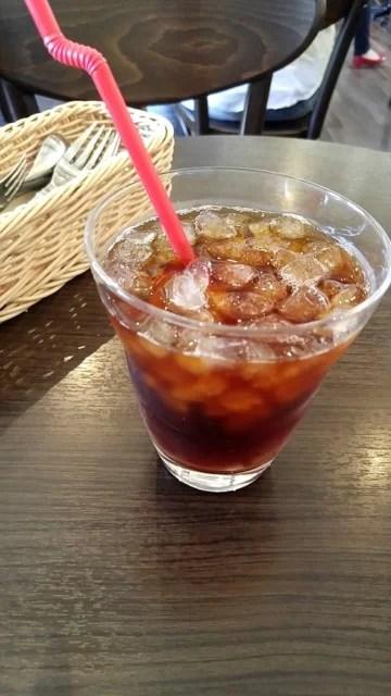 ワッフルカフェ サイン コーヒー