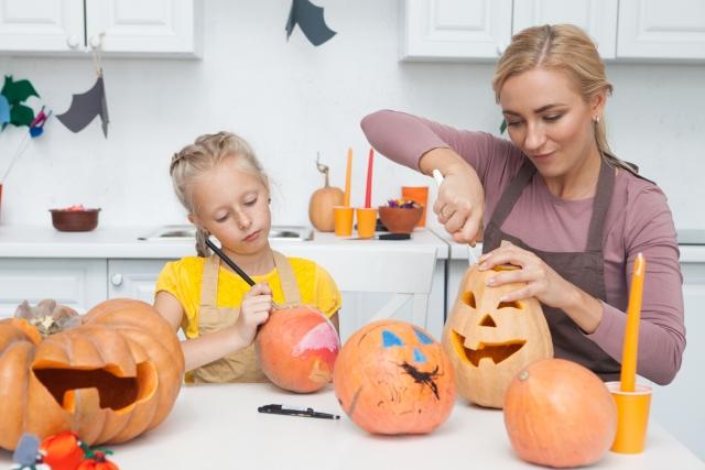 ハロウィン かぼちゃ 漂白剤