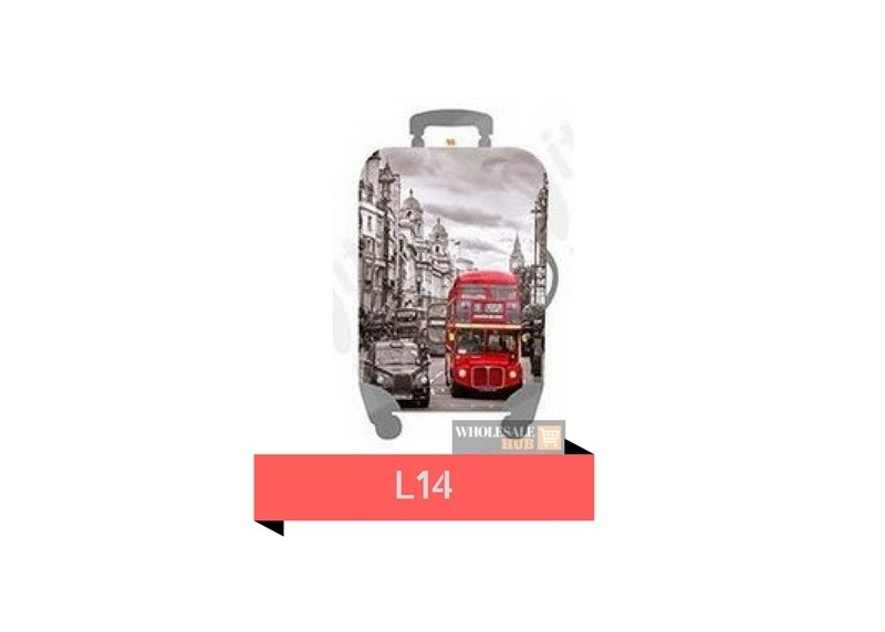 Little Chilli Kingdom Luggage Cover (Large Size)