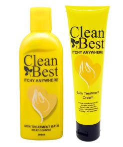 Itchy AnywhereTreatment Cream 80g & Bath 200ml