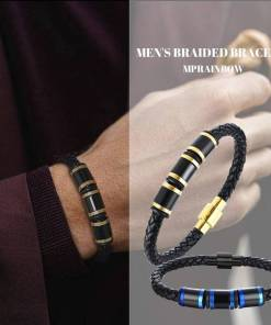DROPSHIPPING LUXURIOUS MEN'S BRAIDED BRACELET FOR MEN WRISTBAND JEWELRY Artificial Jewellery Bracelets Women