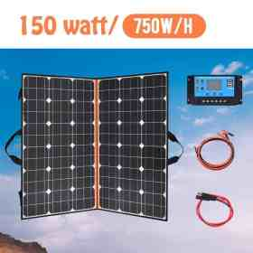 40W 60W 100 watt 120W 150w 200W Foldable Solar Panel Portable Photovoltaic cheap china for Hiking Car&Boat 12v battery Charger Cellphones & Telecommunications Mobile Phone Accessories Solar Panel Chargers