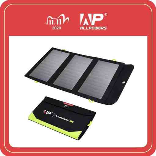 ALLPOWERS 5V 21W Built-in 10000mAh Battery Portable Solar Charger for Mobile Phone Cellphones & Telecommunications Mobile Phone Accessories Solar Panel Chargers