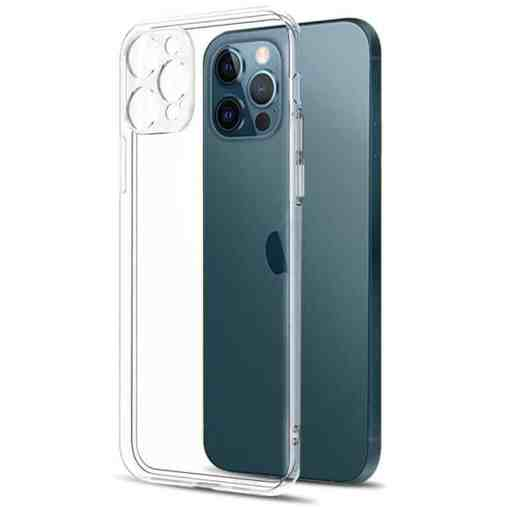 Camera Lens Protection Clear Phone Case For iPhone 12 Pro Max Silicone Soft Cover For iPhone 12 Mini Shockproof Back Cover Gift Cellphones & Telecommunications iPhone Cases/Covers Mobile Phone Accessories Phone Covers
