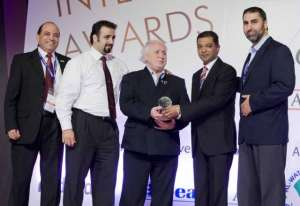 Midamar receiving the Gulfood Award 2013