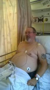 Roger Strange, who was refused a Halal meal at the Great Western Hospital