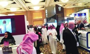 PROMOTING TRAVEL: Around 500 exhibitors from 50 countries displayed their products and services at the show.