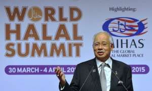The World Halal Conference 2015 at the Kuala Lumpur Convention Centre was opened by Prime Minister Datuk Seri Najib Razak on Monday