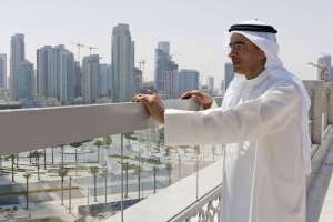 Mohamed Alabbar, who heads Dubai's flagship developer Emaar Properties, is leading a group of Persian Gulf investors who have agreed to take a majority stake in Kuwait Food Co., also known as Americana. Photo: Bloomberg News