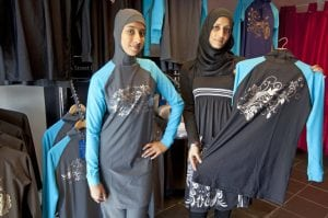 Designer Kausar Sacranie who designs burkinis in east London (Picture: REX/Shutterstock)