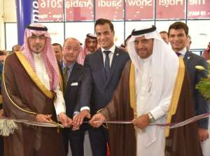 The Hotel Show Saudi Arabia 2016 Opening Ceremony