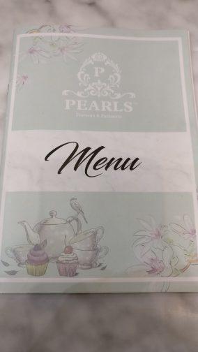 Pearls TeaRoom Menu