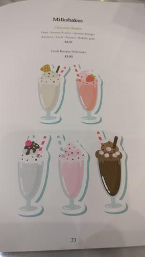 Pearls TeaRoom Drinks Dessert Menu 10