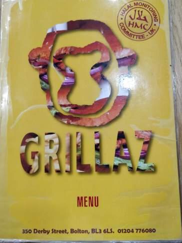 Grillaz Menu 1