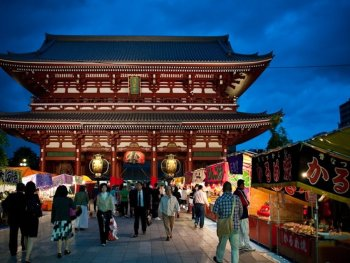 Japan fast approchingits target of20 million foreign tourists