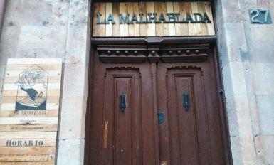 En la misma puerta de La Malhablada