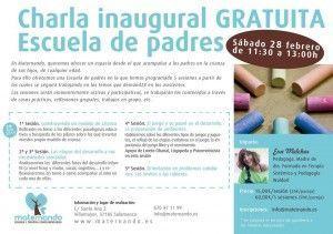 Charla inaugural Escuela de Padres de Maternando