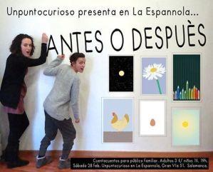 Cuentacuentos con Unpuntocurioso en La Espannola