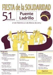 Fiesta de Solidaridad Puente Ladrillo La Caraba