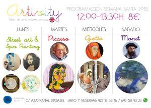 Artivity en Semana Santa 2015