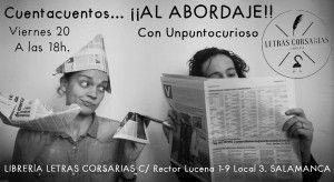 Cuentacuentos con Unpuntocurioso en Letras Corsarias