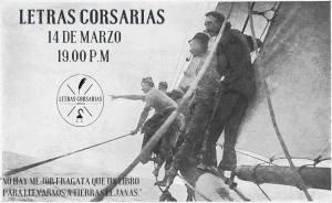 Inauguración de Letras Corsarias el 14 de marzo