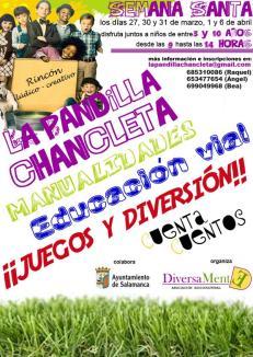 La Pandilla Chancleta en Semana Santa 2015