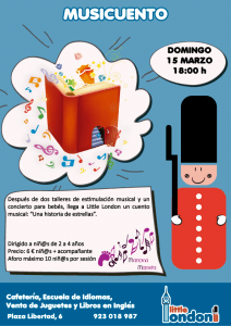 Musicuento en Little London el domingo 15 de marzo