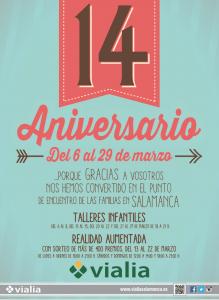 Talleres infantiles en Vialia para celebrar el 14 aniversario