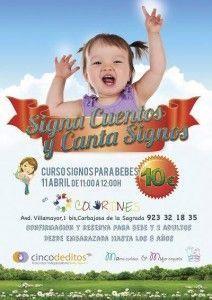 Curso Signos para bebés en Carbajosa