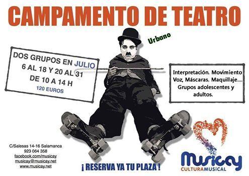 Campamento de Teatro en Musicay en Salamanca