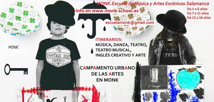 Campamento  Urbano de las Artes en Monk en Salamanca