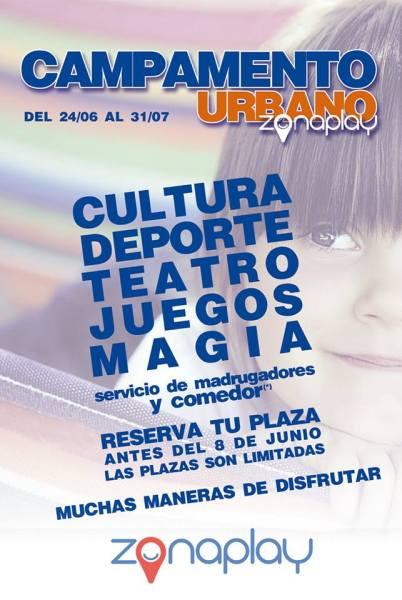 Campamento urbano en Zona Play en Salamanca